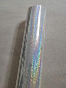 Image 3 - Голографическая фольга, прозрачная Хрустальная точечная штамповочная фольга, горячий пресс на бумаге или пластиковой пленке для передачи