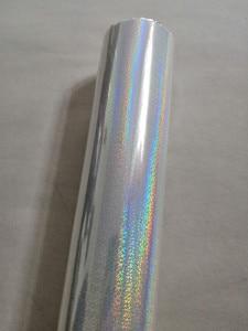 Image 3 - Folia holograficzna przezroczysty wzór punktu kryształowego tłoczenie folia tłoczenia na gorąco na papierze lub plastikowa folia transferowa