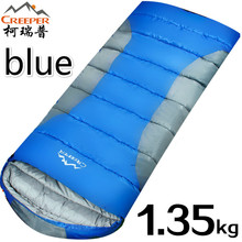 Creeper Outdoor Sleeping Bags Mini Ultralight Multifuntion Portable Envelope Sleeping Bag Cotton Travel Hiking Camping Bag 1350g