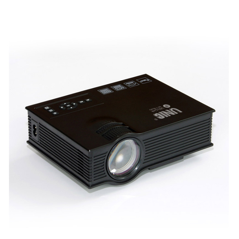UNIC UC68 Portable LED Projector 1800 Lumens 80 110 ANSI HD 1080p Full HD Video Wifi Projector Proyector Beamer for Home Cinema
