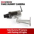 Sem fio Falso Manequim Câmera de Vigilância LED Câmera de Segurança do Manequim Câmera Da Bala Para Venda