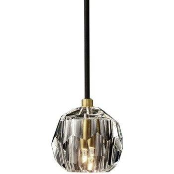 Luminaria Avize Modernas Luces Colgantes LED Para Dormitorio Comedor Cristal Nórdico Burbuja Restaurante Sala De Estar Lámpara De Cocina Suspendida