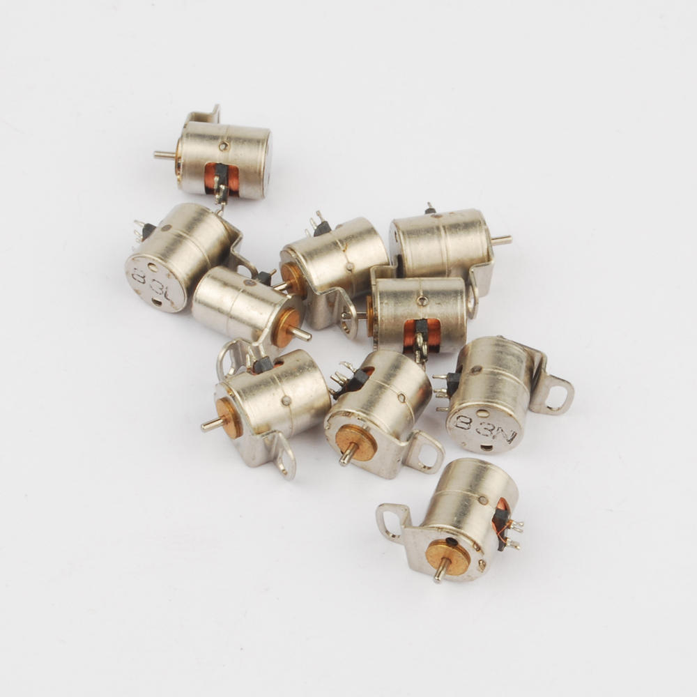 Wholesale Diy 10 Pcs 4 Wire 2 Phase Miniature Stepper Motor With A Mini Four Diagram Small Screw D6mm X H10mm In From Home Improvement On