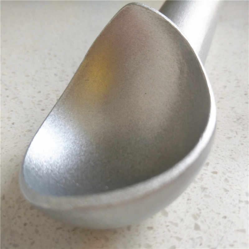 Outils de crème glacée Portable en alliage d'aluminium Anti-adhésif Anti-feèze cuillère à crème glacée pour accessoires de cuisine à domicile
