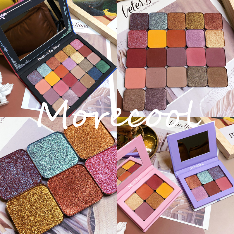Eyeshadow Pallete DIY Empty Magnetic Palette Shimmer Matte Glitter EyeShadow Palette Pigment Makeup Cosmetic DIY Refill Palette