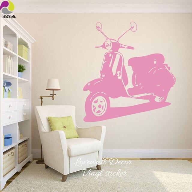 Italien Vespa motorrad Wandaufkleber Wohnzimmer Schlafzimmer Rom ...
