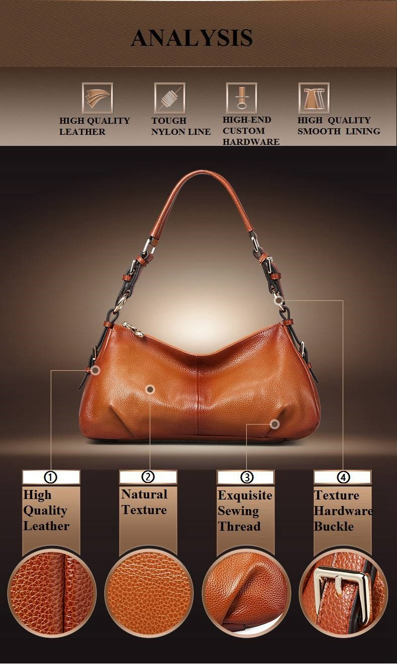 Ladies Handbags 2016 New Womens Bags And Purses Solid Women Leather Shell Bag Bags Zipper Retro Designer Handbags High Quality_032