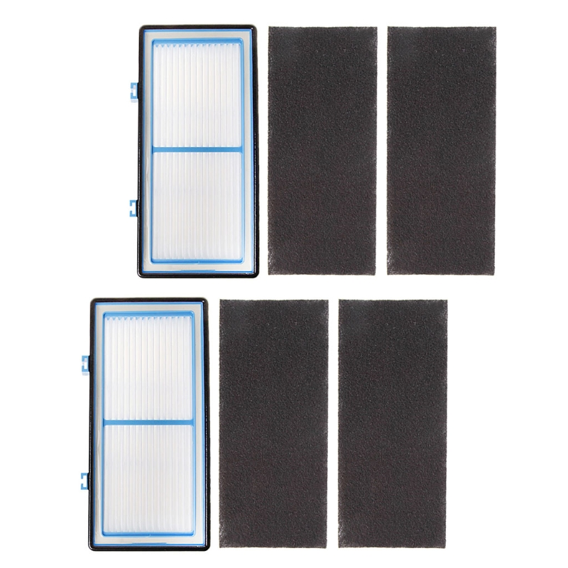 2 HEPA Filter and 4 Carbon Booster Filters for Holmes AER1 Type Total Air Filter Air Purifier Accessories Parts цена