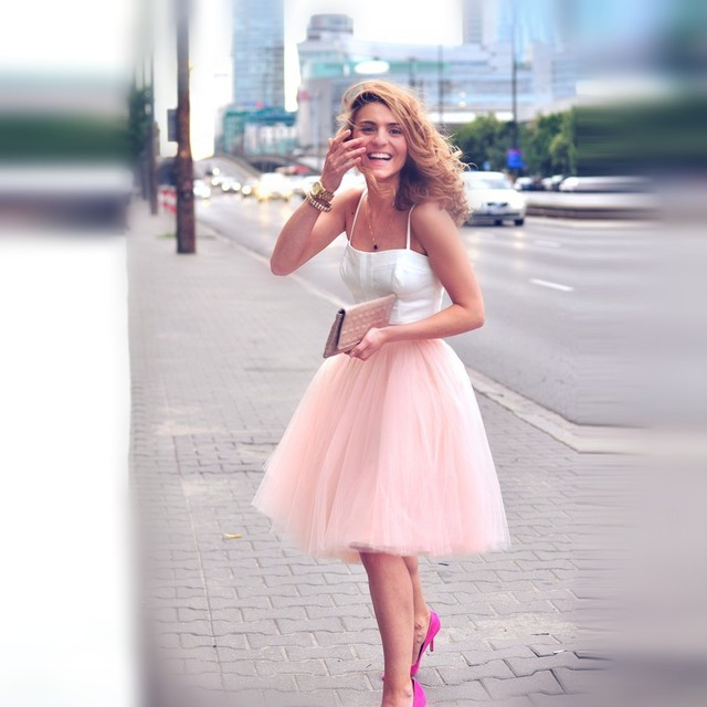 Cool  Women S Clothes Tulle Skirts Fashion Lavender Carrie Bradshaw Tulle
