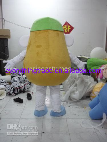 Potato Mascot mascot costume suit Adults Size party game Dress Advertising Mrs