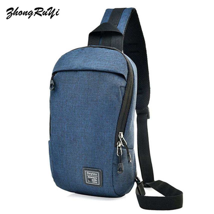 High Quality Men Canvas Vintage Sling Chest Bag Back Day Pack Travel fashion Cross Body Messenger Shoulder Bag 2018 New Fashion new 2018 men nylon travel military cross body messenger shoulder back pack sling chest airborne molle pack