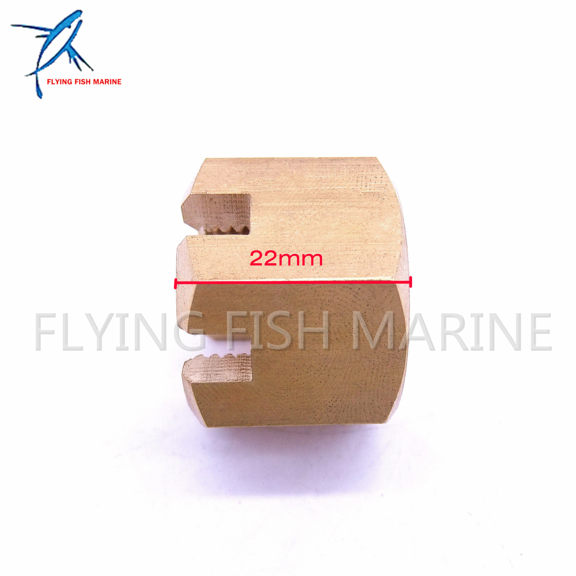 Details about Propeller Nut Castle 90171-18M04 for Yamaha 115HP 130HP 150HP  175HP 200HP 225HP