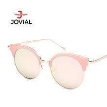2018 Gato Olho Óculos De Sol Mulheres Espelho Moda óculos Polarizados Lente Rodada  Óculos de Sol acb9eea2fd