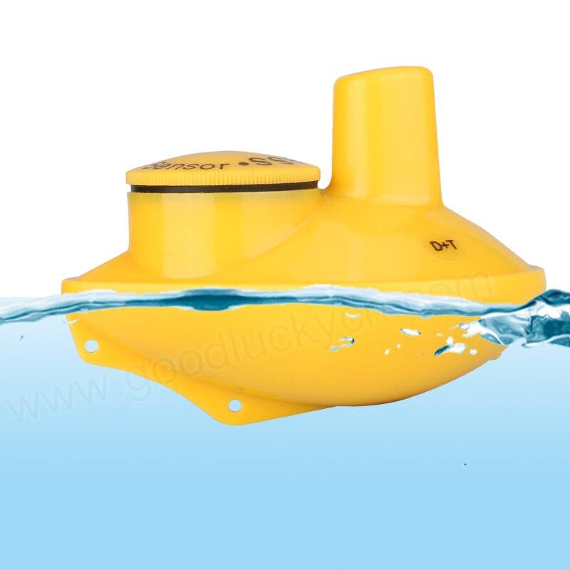 Sorte sensor de sonar remoto sem fio 45 m profundidade água para ffw718 ff518 sorte inventor peixe original