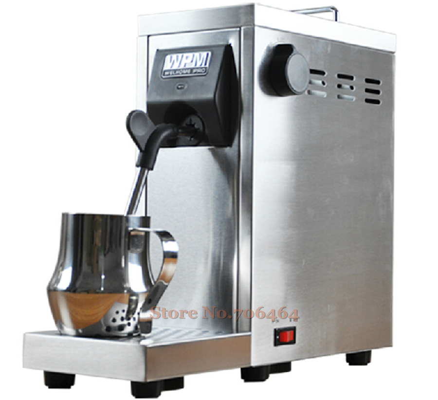 Commercial Portable Fully Automatic Milk Steamer Coffee Frother
