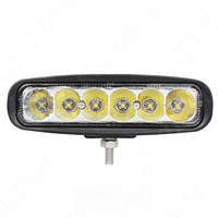 6 Inch 30W LED Work Light 12V 30V DC LED Driving Offroad Light For Boat Truck