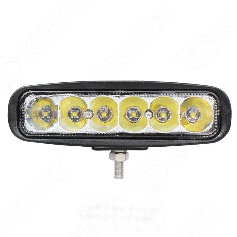6 Inch 30W LED Work Light 12V 30V DC LED Driving Offroad Light For Boat Truck
