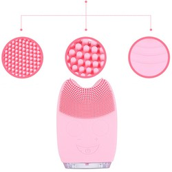 Dropshipping Electric Facial Cleaning Brush Massage Machine Silicone Facial Cleansing Devices Tools