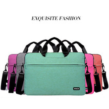 2016 New Laptop Sleeve Bag Case Carrying Handle Bag For 11 13 14 15.6 Inch For Apple Dell Notebook Netbook PC