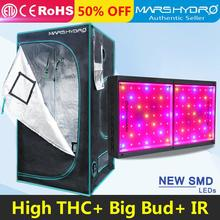 Mars hydro Led grow light full spectrum ECO 600W energy saving lights and100x100x180cm indoor garden hydroponics led grow tent