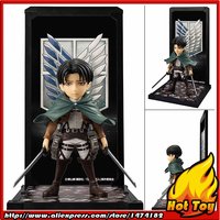 100% Original BANDAI Tamashii Nations Buddies No.011 Collection Figure Levi from Attack on Titan