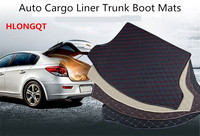 HLONGQT Cargo Liner Trunk Mats For BMW 1 series 118 120 125 2017.2018 Car Boot Mat High Quality Embroidery Leather Free shipping