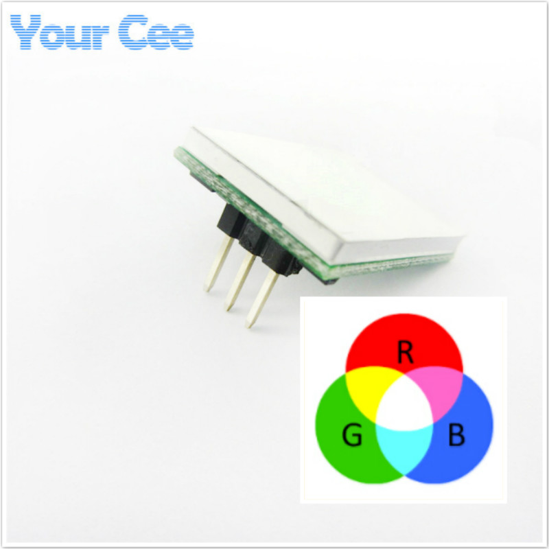 Active Components Inventive Blue Red Green Yellow Colorful Color Capacitive Touch Switch Button Module 2.7v To 6v Module Anti-jamming Is Strong Httm Series
