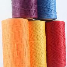 Новое поступление 260 м x 1 мм 150D кожа вощеная нить для DIY инструмент для рукоделия ручная прошивка нитей