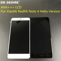 DR DESIRE AAA Original LCD For XiaoMi RedMi Note 4 MTK Helio X20 Version LCD Display