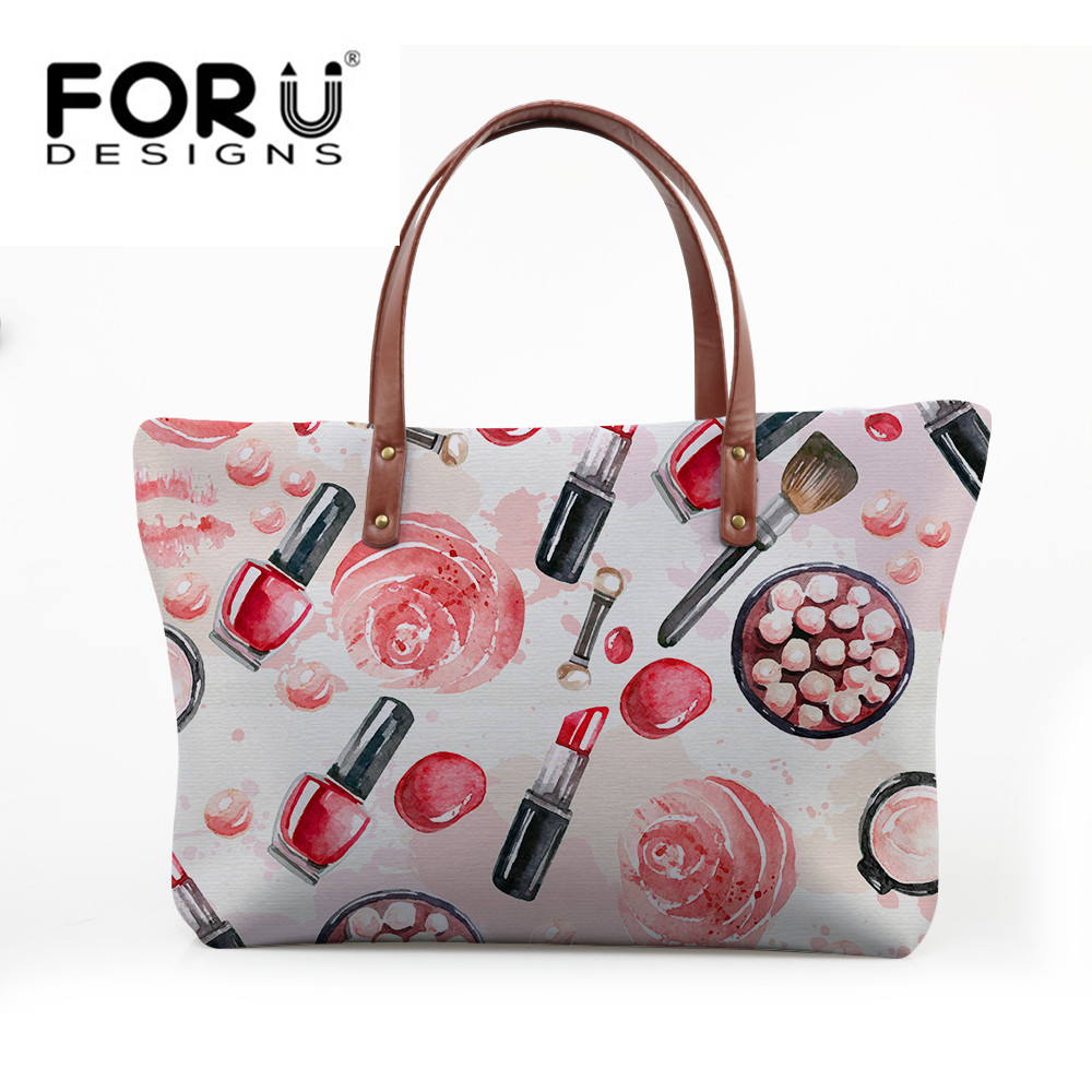 FORUDESIGNS Tote Bag Baobao Women Big Handbag Food Pizza Sandwich Print Ladies Shoulder Bags Beach Bag Shopping Casual for Girls aosbos fashion portable insulated canvas lunch bag thermal food picnic lunch bags for women kids men cooler lunch box bag tote