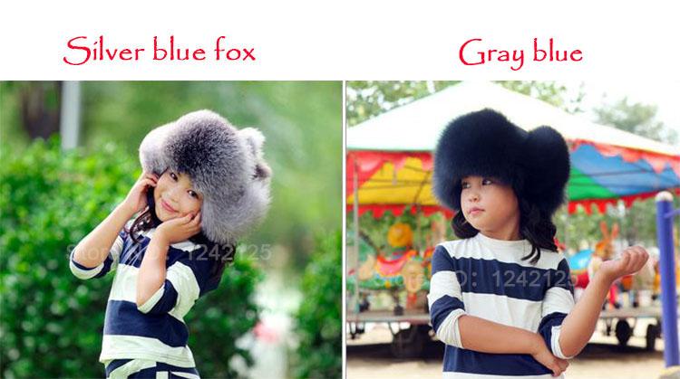 Nueva Rusia sombrero de piel invierno Niño niña de las mujeres los ... c8bbf94ae4e