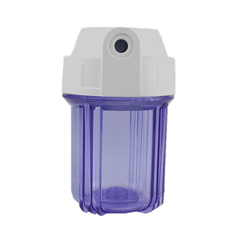 """Thicken 5 Inch Water Filter Housing Transparent Bottle Water Filter Parts Pore Size1/2"""" Or 1/4"""" For Ro System"""