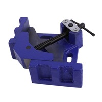 (Ship From DE)100mm Angle Vise DIY Home Handle Tool Angle Clamp Vice Miter Welding Angle Workbench Craft Fixed Repair Tool