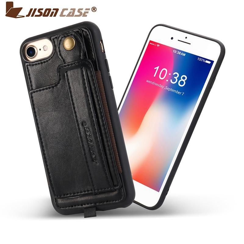f80f36191d0 Jisoncase para el iPhone SE 5S 5 PU Funda de cuero para iPhone 5S 5 ...
