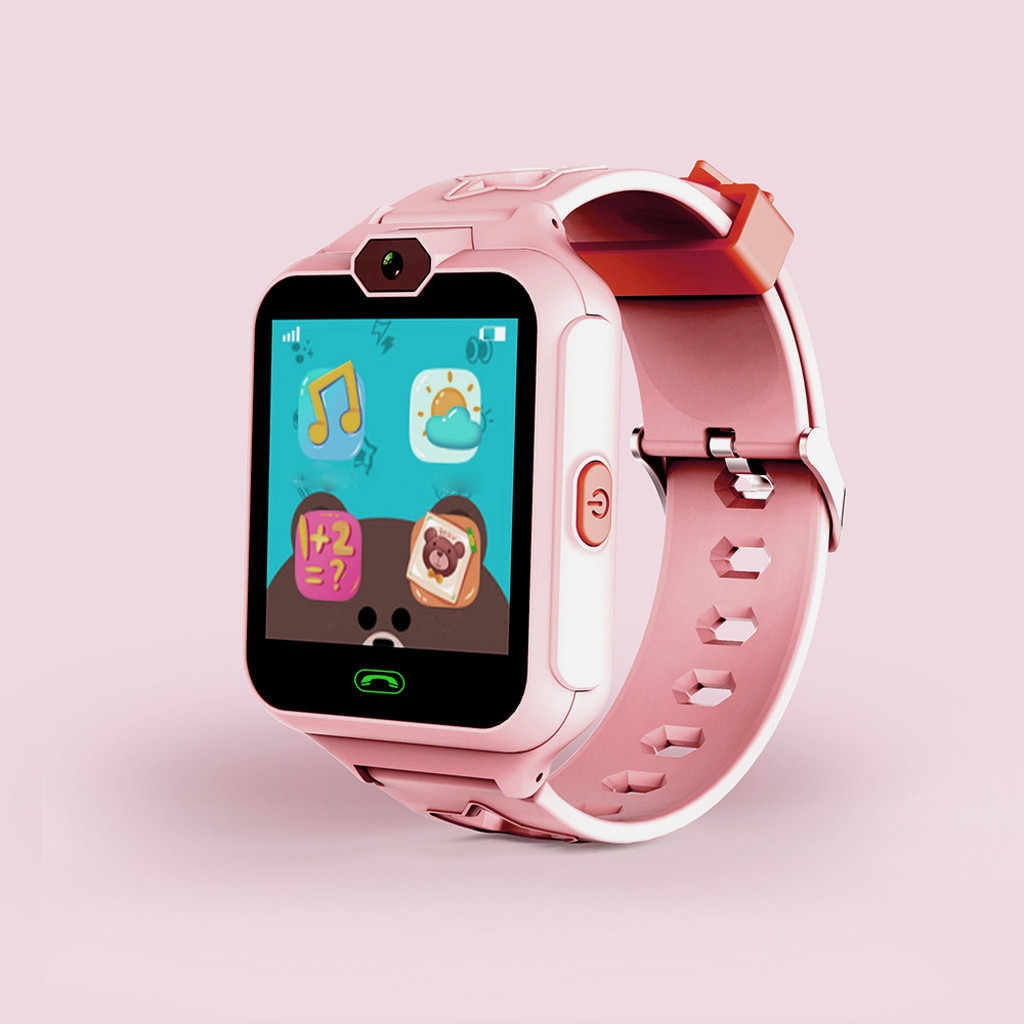 Watch Child Smartwatch for Sport Smart Watch LED Waterproof children with call Alarm clock with Android App iOS