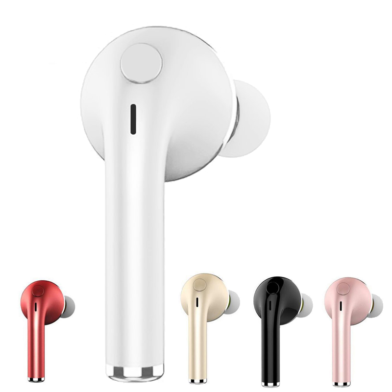 V1 Bluetooth Écouteur Sans Fil avec Microphone Universel Mini Musique Sport Casque pour Iphone 7 8 Plus Xiaomi pour Homme Femmes