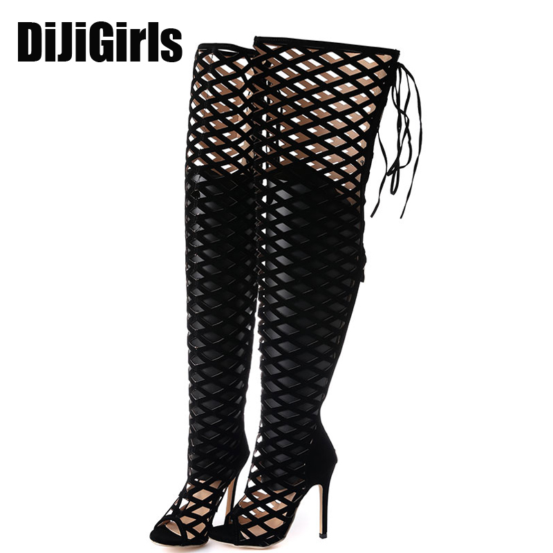 aliexpress buy lace up boots thigh high