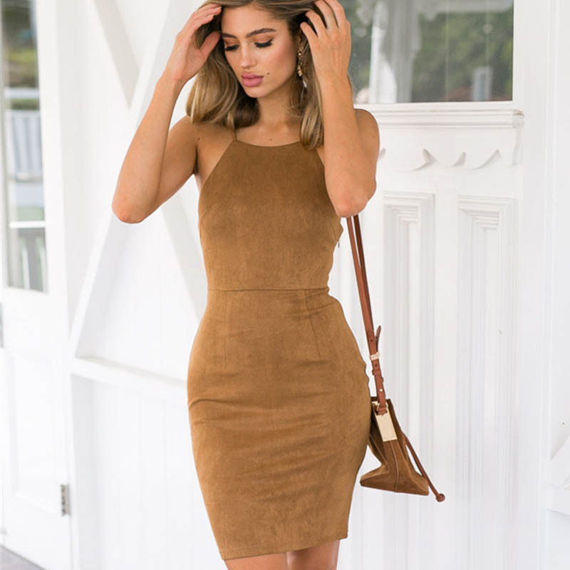 Popular Tan Dresses-Buy Cheap Tan Dresses lots from China Tan ...