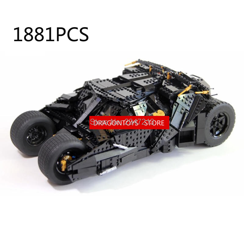 hot compatible LegoINGlys Batman Night knight Ultimate bat chariot Building Blocks modle Robin with clown figures brick toys