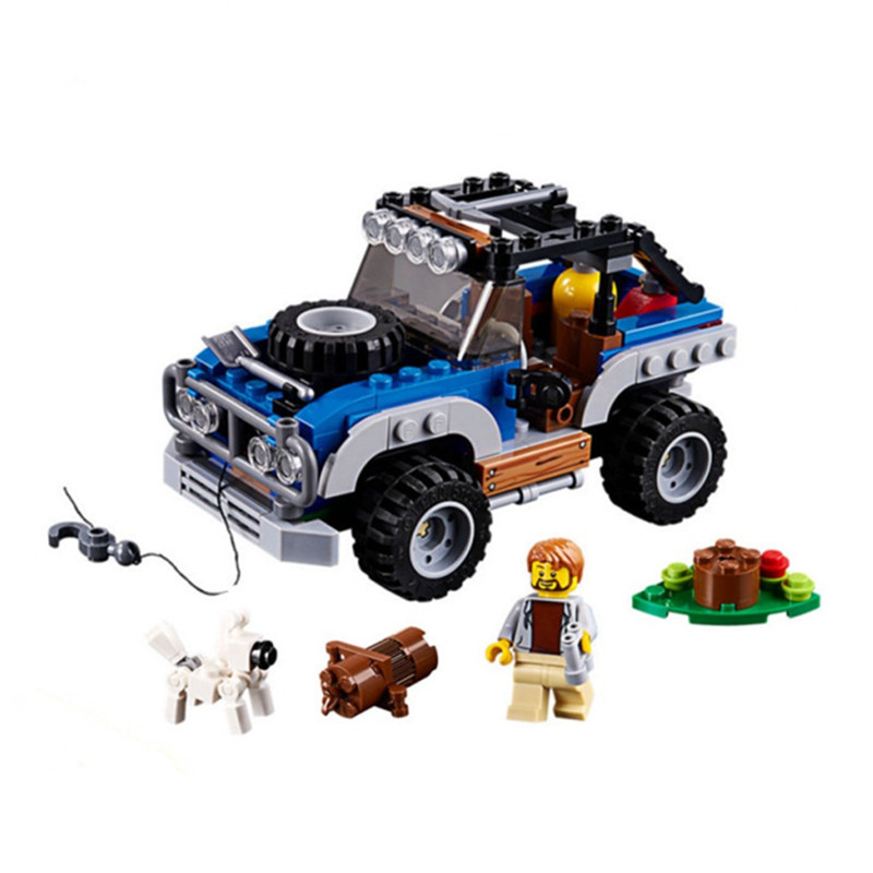 LEPIN Creator 3in1 Outback Adventures Building Blocks Bricks Kids Classic City Model Toys For Children Technic Compatible Legoe decool technic city series excavator building blocks bricks model kids toys marvel compatible legoe