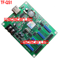 TF TF-QS1 USB LED screen controller 256*32 2*HUB75 & 4*HUB08 Full color asynchronous LED control card