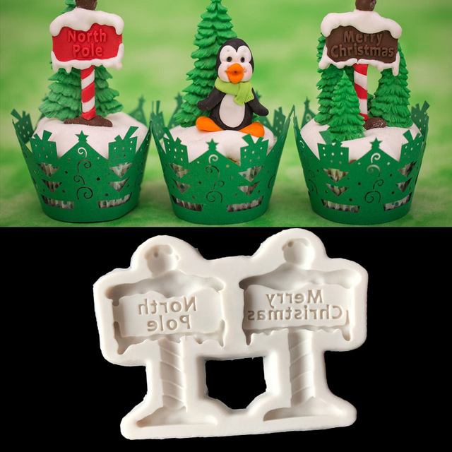 Merry Christmas Shaped Mold