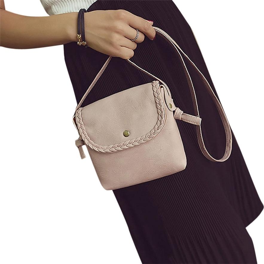 Bolsas Women Hobo Leather Shoulder Bag Messenger Purse Satchel Tote Handbag Made In China Casual