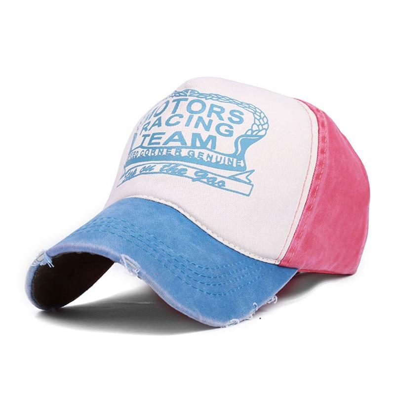 d20ef157030 Motors Racing Team Cap Vintage Baseball Cap Outdoor Sport Trucker Hats For Women  Men Casual Snapback Hip Hop Caps Summer Dad Hat-in Baseball Caps from ...