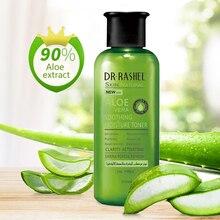 DRRASHEL Aloe Vera Moisture Toner Face Moisturizer Soothing Hydrating Purifying Shrink Pore Oil Control 200 ml