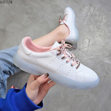 Women Casual Shoes Female Soft Women Sneakers Flats Girl Breathble Vulcanized Shoes Lace Up Casual White Zapatos De Mujer Z24