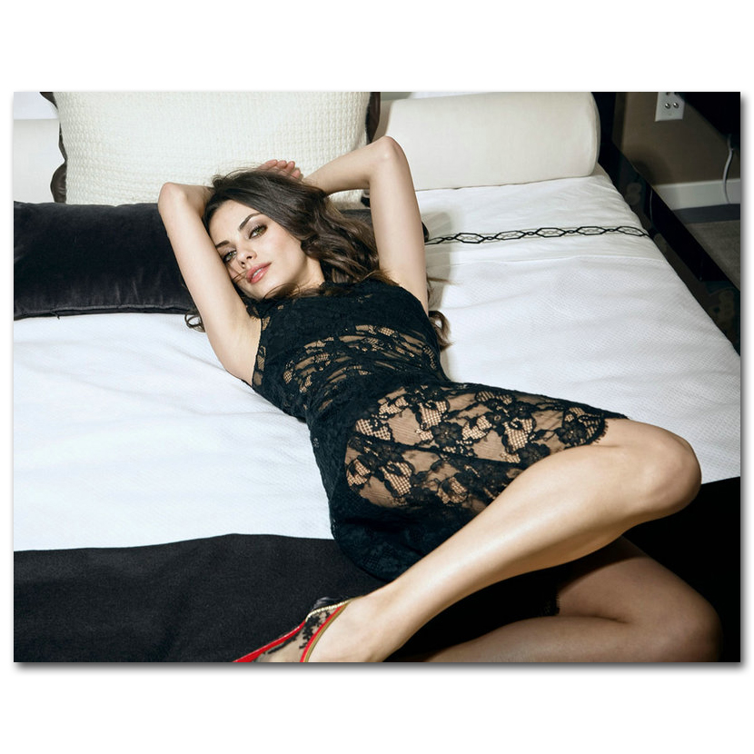 Mila Kunis - Sexy Actress Voice Artist Silk Poster 20x26inch Pictures for  Room Decor 007
