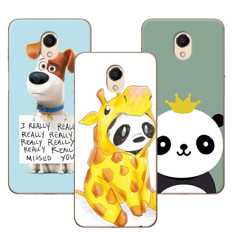 Для Meizu M6S M S6 Новые прибыл роспись Собака Медведь Мягкий силиконовый чехол Coque для Meizu M 6 S Mblue s6 крышка Fundas 5,7 + подарок