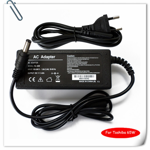 65W Notebook AC Adapter Charger for Toshiba Satellite A215 s7437