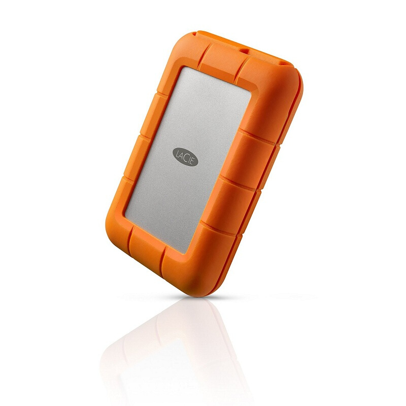 "Image 2 - Seagate LaCie Rugged 1TB 2TB 4TB Thunderbolt and USB 3.0 Portable Hard Drive 2.5"" External HDD Sport HDD for Laptop Desktop-in External Hard Drives from Computer & Office"
